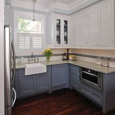 blue kitchen cabinets with granite countertops 75 beautiful kitchen with blue cabinets and granite