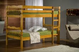 Weston Ft Single Solid Pine Bunk Beds In A Stunning Pine Finish - Solid pine bunk bed