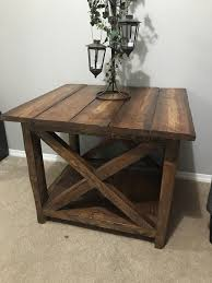 X Side Table Rustic X Side Table Other Tables Calgary Kijiji