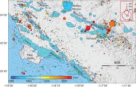 Greater Los Angeles Map by A Century Of Oil Field Operations And Earthquakes In The Greater