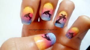 3 cute nail art designs for springsummer 3 youtube easy nail art