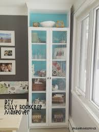 Bookshelves Glass Doors by 25 Best Bookshelf Makeover Diy Ideas On Pinterest Sports Room
