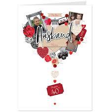 40th birthday card husband alanarasbach com