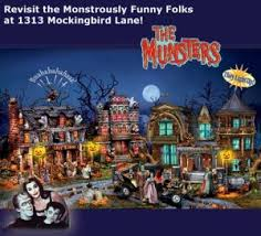 the munsters halloween village