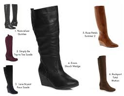 womens boots australia wide calf curvy fashion plus size boots