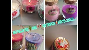 new dollar tree wine and tropical scented candles