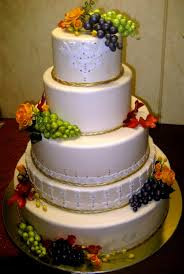 autumn leaves roses and grape wedding cake u2013 vanilya bakery