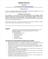Sample Resume For Experienced Assistant Professor In Engineering College by Microbiologist Resume Template 5 Free Word Pdf Document