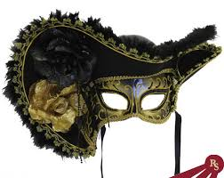black and gold masquerade masks black and gold masquerade pirate mask venetian ebay