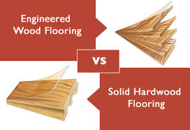 engineered wood flooring vs hardwood with solid hardwood