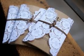 Paper Invitations Doily Kraft Paper Invites Philippines Wedding Invitation Laser