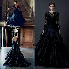 black wedding dress black lace wedding dress plus size naf dresses