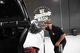 we waterless wash playa vista u0027s eco friendly car wash cars