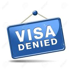 visa denied or rejected immigration st for crossing the border