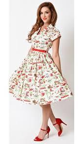 1940s style yellow u0026 white dot cap sleeve peasant swing dress
