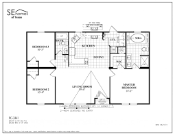 Four Bedroom Floor Plan by Double Wide Mobile Home Floor Plans 4 Bedroom Double Wide Bedroom
