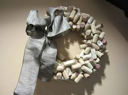 diy holiday cork wreath the home depot community