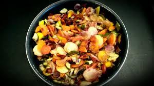 cuisiner des carottes à la poele recette poêlée de carottes multicolores et courgettes sur ma