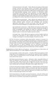Simple Authorization Letter Act Behalf ra 6713 code of conduct of public officials and employees