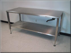 stainless steel table legs adjustable laboratory tables science lab workbenches