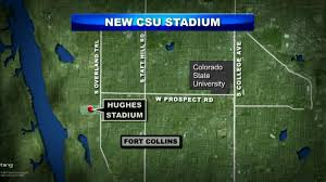 Colorado State University Campus Map by Csu President Comes Out In Favor Of New Stadium For Rams Cbs Denver
