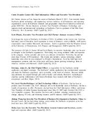 Starbucks Business Cards Final Draft Starbucks Financial Analysis Term Paper