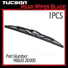 hyundai tucson rear wiper blade hyundai kia genuine parts wiper blade 98820 2e000 988202e000 ebay