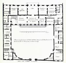 Plan Ground Floor De Cotte U0027s Floor Plan Of The Hôtel Du Maine Paris P4 Rzut