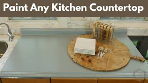 what type of paint to use on formica cabinets how to easily paint any kitchen countertop diy tutorial