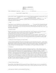 printable sample simple room rental agreement form real estate