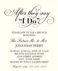 wedding brunch invitations wording dreaded proper invitation wording 98 like the font cheap wedding
