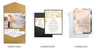 pocket folds wedding paper divas foil sted invitations diy goodies