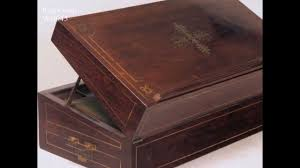 antique lap desk hygra antique writing box decorated with marquetry in rosewood
