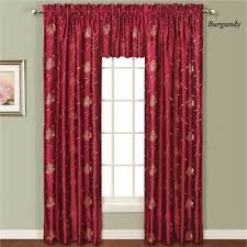 avalon floral faux silk window treatment