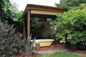 Easy Backyard Landscaping Ideas Plug And Play Hot Tub In Patio Eclectic With Front House