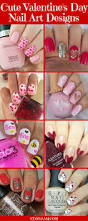 valentine s day 35 cute valentine u0027s day nail art designs stayglam