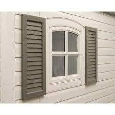 exterior wood shutters home depot homebasics plantation faux wood