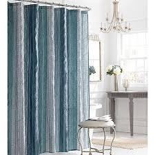 bed bath and beyond fairfax manor hill sierra shower curtain in blue bed bath beyond