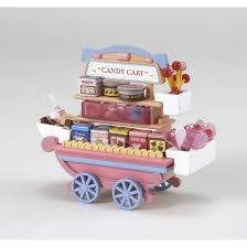 Sylvanian Families Garden Set 33 Off On Sylvanian Families Fruit Wagon U0026 Candy Wagon Set