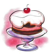 hedgehog bakes a cake
