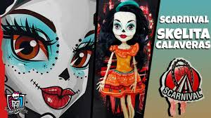 monster high skelita halloween costume scarnival skelita calaveras monster high youtube