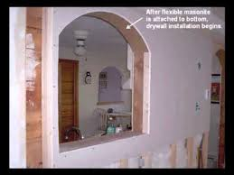 Interior Stone Arches How To Build Interior Arches Revised Youtube
