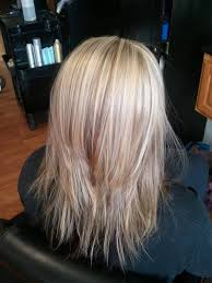medium hair styles with layers back view layered haircut for women