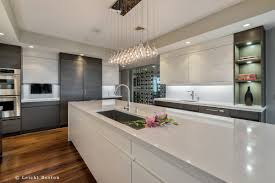 Kitchen Island Fixtures by Modern White And Grey Kitchen Decoration Using Modern Rectangular