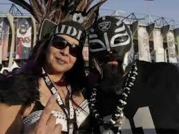 Raiders Halloween Costume Raiders Fans Descend Mexico Monday Night Clash
