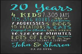 20th wedding anniversary gifts for 20th wedding anniversary evgplc