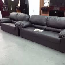 3 Seater Cream Leather Sofa Cream Leather 3 2 Seater Sofas Second Hand Household Furniture