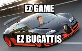 New Bugatti Meme - this pic of burning from ts3 dota2