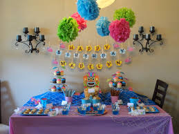 simple birthday decoration ideas at home interior design simple hawaiian themed party decorations ideas