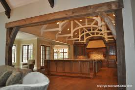 pole barn home interiors barn home interior colonial homes dma homes 67989